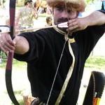 Íjászat középkori játszóudvar