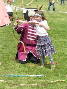 középkori játékok: Íjászat